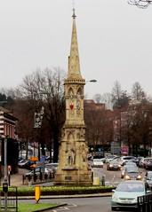Banbury Cross (Stuart Axe) Tags: england uk unitedkingdom gb greatbritain banbury oxfordshire statue nurseryrhyme monument banburycross cross