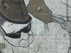 ST ETIENNE 07.2016 (Ella et Pitr, les Papiers Peintres) Tags: st giant floor drawing ella dessin etienne geant parterre pitr ellapitr