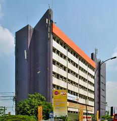 Kampus Ungu Institut Bisnis & Manajemen ASMI (BxHxTxCx) Tags: building university jakarta universitas gedung