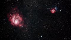 M8 M20 (Kennix Lam) Tags: nebula m8 m20 lagoonnebula trifidnebula ngc6514 ngc6523