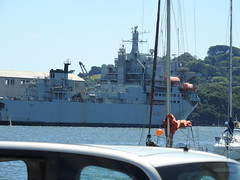 RFA Argus (mukaloon) Tags: rfa argus devonport waterfront harbour tamar plymouth