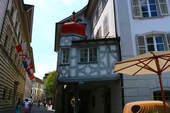 Luzern (vinci1995mij) Tags: luzern stadt vierwaldstdtersee see altstadt schweiz suisse kapellbrcke bridge jesuitenkirche kirche hofkirche st leodegar lucerne