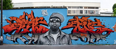 Can I Kick It ? (HBA_JIJO) Tags: portrait urban panorama music streetart paris france celebrity art alex wall painting graffiti rip letters spray peinture writer hiphop rap mur lettres urbain artiste brok lettring lettrage phifedawg flickrunitedwinner hbajijo ourcqlivingcolor