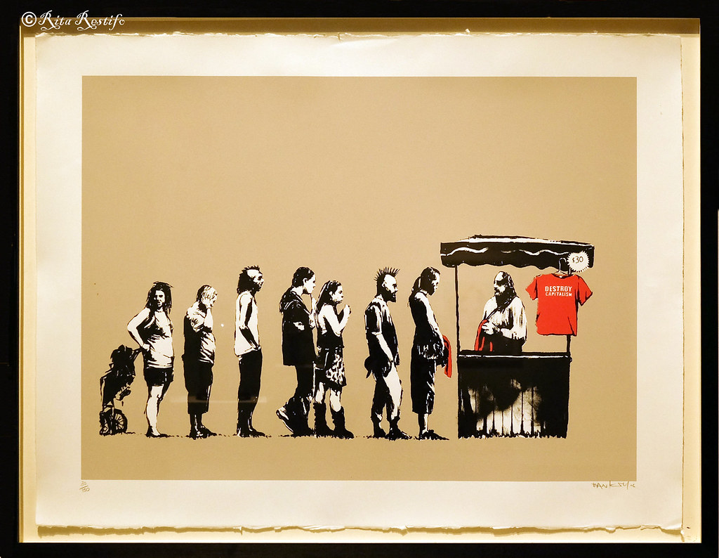 The World\'s most recently posted photos of banksy and exhibit ...