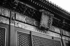 (sunnywinds*) Tags: yonghetemple beijing dharmawheel hall architecture china     leica aposummicronm1250asph mm246 monochrom