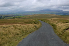 Keasden Road (Walruscharmer) Tags: moorlandlane moor panorama ingleborough bowland aonb northyorkshire yorkshire england