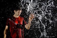The Splash Whisperer ([ lee ]) Tags: water selfportrait lowkey splash whisperer