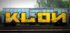 klon (timetomakethepasta) Tags: klon am esp freight train graffiti wholecar albany new york boxcar cmq