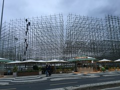 scaffolding for Olympic event