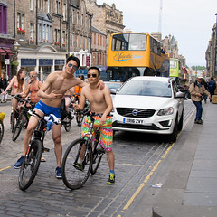 World Naked Bike Ride 2016-311 (KirkmouseMedia) Tags: bicycle edinburgh wnbr cycling
