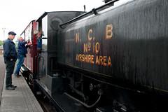 NCB No. 10 (TroonTommy) Tags: engine locomotive ncb steam train scottish industrial railway centre dunaskin patna
