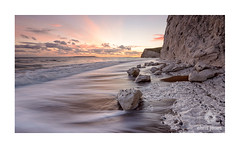 Bat's Head in Dorset at sunset. (Chris Jones www.chrisjonesphotographer.uk) Tags: bats head dorset south west england uk chris jones photographer sea ocean wave jurassic coast coastline chalk cliff durdle door winter