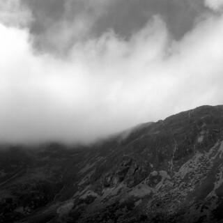 Clouds on Cadair Idris