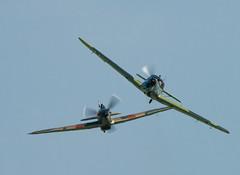Hurricane On My Tail (AircraftPhotoz) Tags: raf aviation aircraft airshow airshows hurricane hawkerhurricane duxford bf108