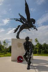 The Parachute Regiment Memorial (The Crewe Chronicler) Tags: nationalmemorialarboretum memorial warmemorial pegasus paratrooper parachuteregiment theparas alrewas staffordshire canon canon7dmarkii