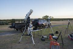 Astronomy Weekend (VisualUniverse) Tags: toyota4runner xventuretrailer takahashitoa150 10microngm2000hps skywatcheresprit80ed ioptronieq45pro 3rf comanchespringsastronomycampus westtexas
