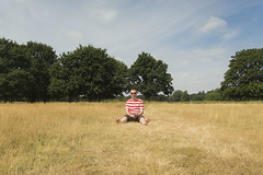 Exactly Where I Want To Be (Scott A Hamilton) Tags: male portrait summer countryside sunny barefoot