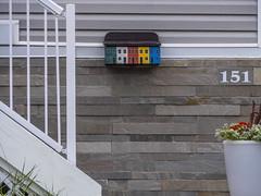 Signal Hill mailbox (marianna_away for a while) Tags: stjohns newfoundland street houses colour color bright cheerful perspective urban canada canadian mariannaarmata