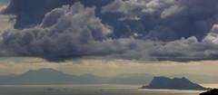 Columnas de Hrcules /  Pillars of Hercules (Jos Rambaud) Tags: africa sea rock clouds mar europa mediterranean mediterraneo morocco nubes gibraltar marruecos cloudscape rif pillarsofhercules straitofgibraltar estrechodegibraltar jebelmusa pendegibraltar yebelmusa rifrange jbelmusa adrarmusa columnasdehercules