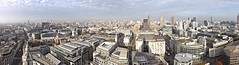 View of London from St Paul's Cathedral (lcfcian1) Tags: from city uk shadow england panorama building london church st skyline clouds buildings high looking view cathedral pano towers pauls panoramic barbican cranes bttower roads stpaulscathedral saintpaulscathedral lookingout oldbailey londonskyline londonview stpaulsview stpaulscathedralview viewoflondonfromstpaulscathedral