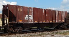 IFRX Covered Hopper 309529 (tjtrainz) Tags: santa 3 ex car train bay flag railway covered fallen fe topeka hopper freight atchison atsf ifrx