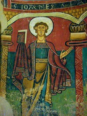 medieval survivor (Szymek S.) Tags: barcelona españa museum spain catalonia medieval catalunya museo romanesque fresco cataluña montjuïc museunacionaldartdecatalunya