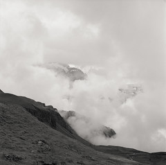 (joelbrendenphotography) Tags: mist alps clouds zeiss fuji c first cm hasselblad carl neopan 100 28 grindelwald 500 ch planar acros 80mm 500cm bachalpsee