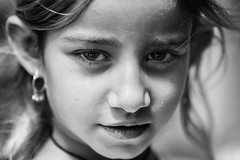 A little yazidi girl (Giulio Magnifico) Tags: girl child iraq isis kurdistan zakho ezidi nikond800e nikkormicro105mmafsvrf28 da3sh
