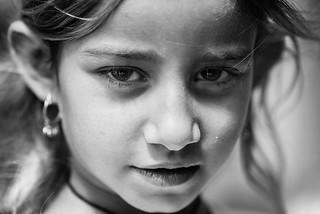 A little yazidi girl