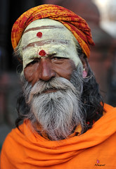 sdhu (YellowSingle ) Tags: nepal man nikon holy himalaya hinduism baba f28 pashupatinath 2470mm bagmati sdhu