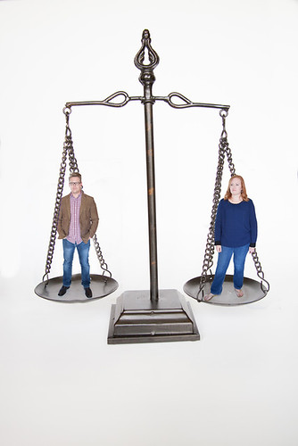 Divorce balance - scale