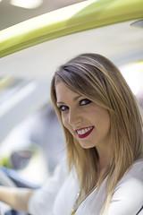 1K5A8128 (fotopierino) Tags: girl bike canon 85mm salone moto sorriso 12 ragazza sym 2014 modella eicma fotopierino