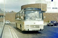 Slide 009-52 (Steve Guess) Tags: uk england bus buses bedford williams bs surrey southern gb basil guildford vam vanhool emsworth motorways wur866k