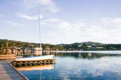 waldschachersee (bikybadybadybiky) Tags: sky panorama reflection colors photography amazing wasser natur himmel bild blick mothernature wetter photooftheday sjö flos naturelove niceday wunderschön pejsaz wonderfoul