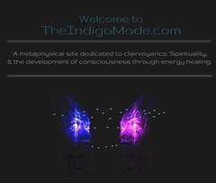 The Indigo Mode homepage (theindigomode) Tags: selfreflection spirituality psychic metamorphosis shadowwork clairvoyance starseed chakrameditation