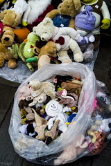 Christmas Casualties (FTonyC) Tags: christmas trash shopping blackfriday toys bin leftovers rubbish unwanted sack sales consume surplus suffocate unloved disposed sigmadp2