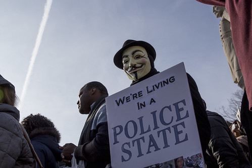 We're Living In A Police State, From FlickrPhotos