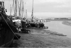 IMG_0002 (TozMoz) Tags: white 3 black film home 35mm river boats bay pentax iso plus developed essex ilford fp4 maldon 125 ilfosol