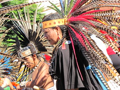 Aztec Dancers (shaire productions) Tags: street people heritage photo dance dancers dancing aztec native folk candid traditional picture feather culture nativeamerican mexican ethnic cultural headdress