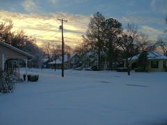 North Texas Snow (retiredPhil) Tags: snow p7000 vanagram locationgreenvilletx