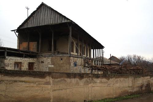 Old house in village Tsaghkavan. Tavush, Armenia.