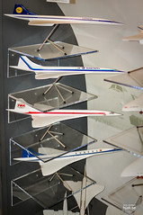 Concorde customer models (hjakse) Tags: uk england unitedkingdom surrey concorde eastern lufthansa twa weybridge bac sabena vickers brooklands storbritannien grosbritannien