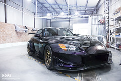 Fist auto J's Racing S2000 (MoniqueS Image) Tags: honda purple fist rays import s2k s2000 jdm carbonfiber amuse midnightpurple voltex jsracing fistauto wingwidebody