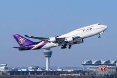 Thai Airways Boeing 747-4D7 HS-TGX (NilsT.) Tags: münchen thai boeing airways flughafen muc 747400 eddm hstgx