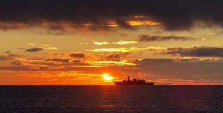 Sunrise Patrol - HMCS Winnipeg