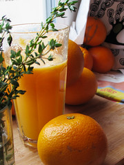 (100% raw) vegan orange & carrot juice (tarengil) Tags: old winter food orange plant color green home apple nature kitchen glass fruits yellow paper vegan lemon raw drink juice homemade vegetarian carrot smoothie juicer kuvings