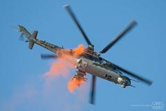 Mi-24V 7356 Czech Air Force (Spotterforlife) Tags: peer flanders belgien 2014 kleinebrogel ebbl belgianairforcedays