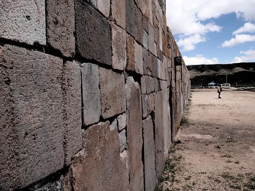 Visitando Tiahuanaco