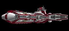 Lego Star Wars Pelta Class Medical Frigate (bjrnschwarz) Tags: ldd