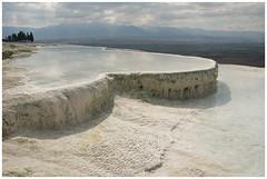 Pamukkale (stevefge) Tags: water turkey hills travertine pamukkale anatolia